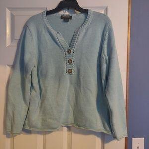 Eddie Bauer Mint Sweater